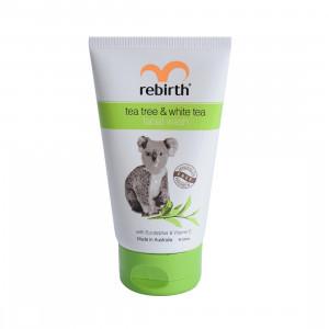 Sữa Rửa Mặt Trà Xanh Và Trà Trắng Rebirth Tea Tree & White Tea Facial Wash (100ml) – RB34 (T12)
