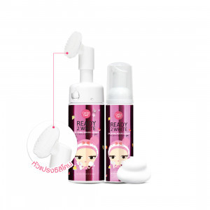 Sữa Rửa Mặt Tạo Bọt Trắng Da Cathy Doll Ready 2 White 2in1 Bubble Mousse Cleanser (120ml)