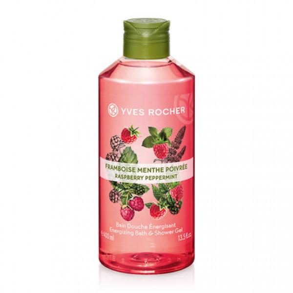 Sữa Tắm Yves Rocher Hương Raspberry Peppermint Bổ Sung Năng Lượng (400ml)